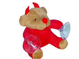 GS7489 - Devil Bear (9cm) - w - suction cup